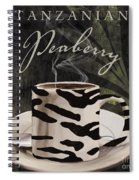 Afrikan Coffees Spiral Notebook
