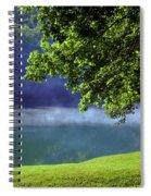 After A Warm Summer Rain Spiral Notebook
