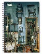 After Hours Antiques Spiral Notebook