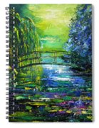After Monet Spiral Notebook