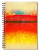 After Rothko 8 Spiral Notebook