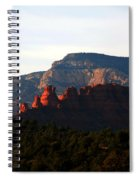 After Sunset In Sedona Spiral Notebook