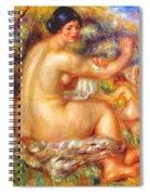 After The Bath 1912 Spiral Notebook