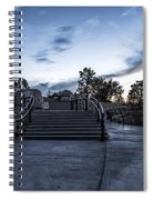 After The Crowds Have Left Spiral Notebook