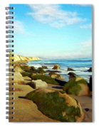After The Fog Gaviota Spiral Notebook