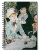 After The Luncheon Spiral Notebook