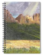 After The Monsoon Organ Mountains Spiral Notebook