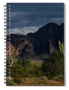After The Rain In The Superstitions  Spiral Notebook