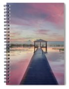 After The Rain Sunrise Painting Spiral Notebook
