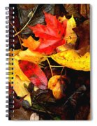After The Rains Of Autumn Spiral Notebook