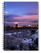After The Snow Storm Spiral Notebook