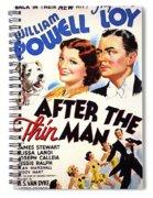 After The Thin Man 1935 Spiral Notebook