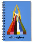 Afterglow Text Spiral Notebook