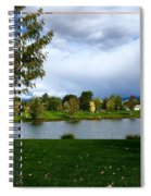 Afternoon In The Park Spiral Notebook