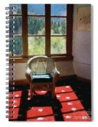 Afternoon In The Solarium Spiral Notebook