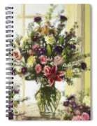 Afternoon Kissed Of Color Spiral Notebook
