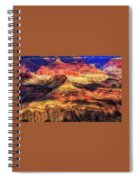 Afternoon Light At Mather Point, Grand Canyon Spiral Notebook