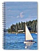Afternoon Sail Spiral Notebook