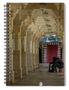 Afternoon Siesta Spiral Notebook