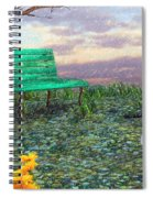 Afternoon Snooze Spiral Notebook