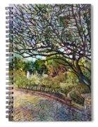 Afternoon Stroll Spiral Notebook