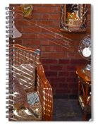Afternoon Sun Spiral Notebook