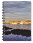 Afternoon Sun On Marblehead Neck Spiral Notebook