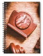 Afternoon Tea Time Spiral Notebook
