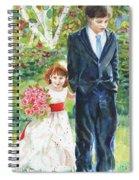 Afternoon Wedding Spiral Notebook