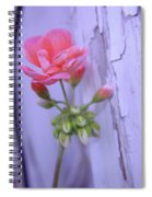 Against The Barn Wall  Spiral Notebook