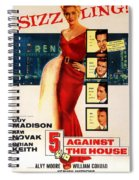 Against The House Film Noir  Spiral Notebook