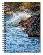 Against The Rocks Spiral Notebook