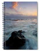 Against The Sea Spiral Notebook