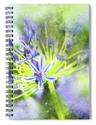 Agapanthus Perfection Spiral Notebook