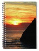 Agate Beach Oregon Spiral Notebook