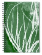 Agave- Abstract Art By Linda Woods Spiral Notebook