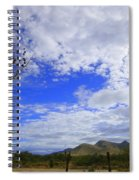 Agave And The Mountains Spiral Notebook