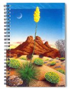 Agave Bloom Spiral Notebook