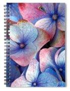 Ageing Hydrangea Spiral Notebook