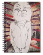 Aggravated Baby Spiral Notebook