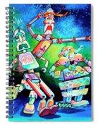 Aghast Agape And Agog Spiral Notebook