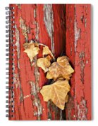 Aging Together Barn  Spiral Notebook