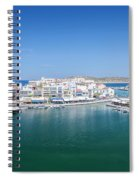 Agios Nikolaos Overview Spiral Notebook