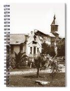 Agnews State Hospital San Jose Calif. 1906 Spiral Notebook