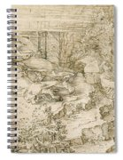 Agony In The Garden Spiral Notebook