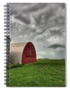 Agriculture Storage Bins Granaries Spiral Notebook