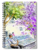 Agua Amarga 11 Spiral Notebook