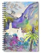 Agua Amarga Fantasy 02 Spiral Notebook