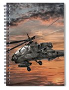 Ah-64 Apache Attack Helicopter Spiral Notebook