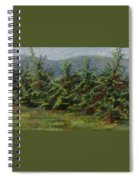 Ah The Apple Trees Spiral Notebook